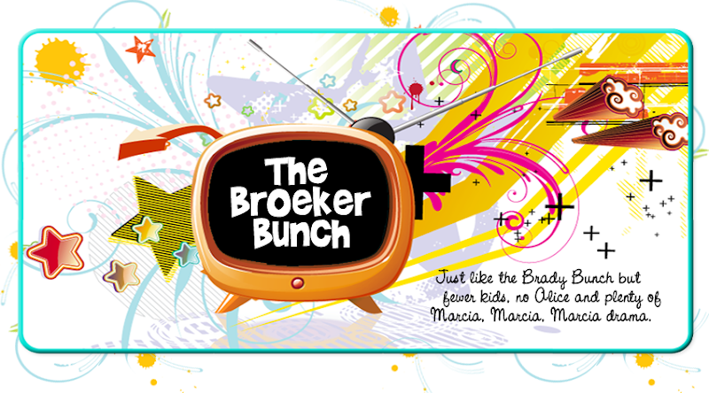 The Broeker Bunch Blog Design