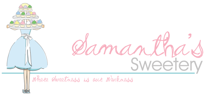 Samantha Sweetery Blog Design