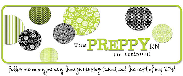 Preppy RN Blog Design