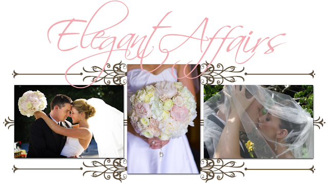 Elegant Affairs Blog Design