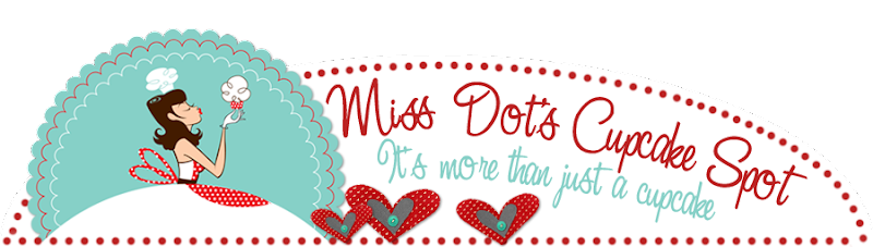 Miss Dots Cupcakes Blog Design