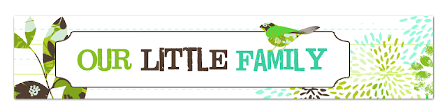 Our Little Family Blog Design