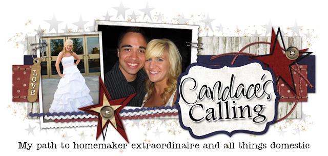 Candace's Calling Blog Design