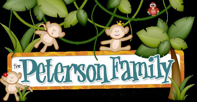 Peterson Family Blog Design