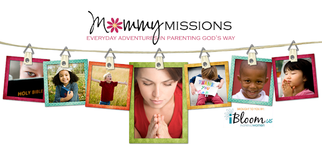 Mommy Missions Blog Design