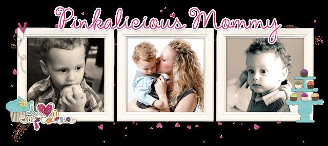 Pinkalicious Mommy Blog Design