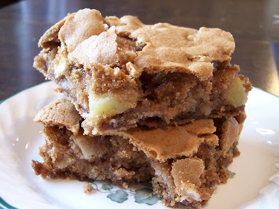 A Cooking Bookworm: Molly's Apple Brownies