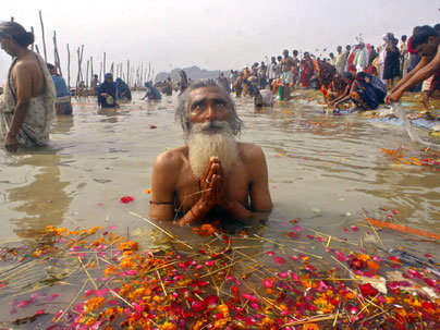 bhagirathi and culminating in gangasagar ganga enlivens a culture