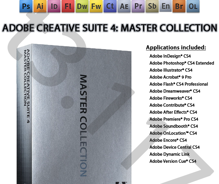 Crack cs4 master collection for mac