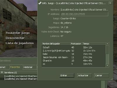 Counter Strike 1.6 V32 Online y LAN 2