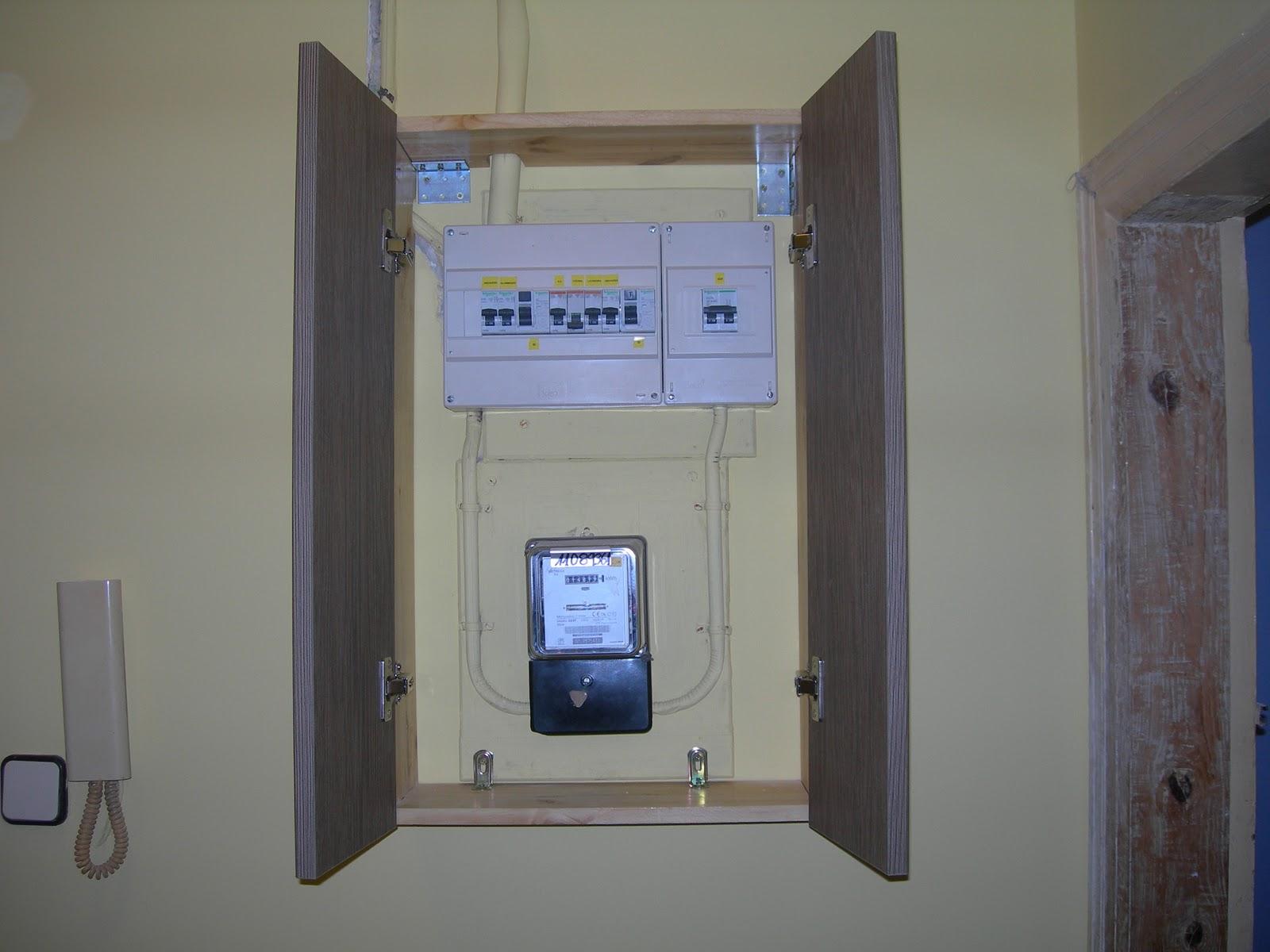 Bricolaje hazlo tu mismo arreglo cuadro de proteccion for Caja contador agua