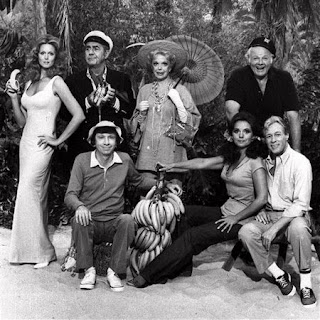 A photograph of the Gilligan's Island cast