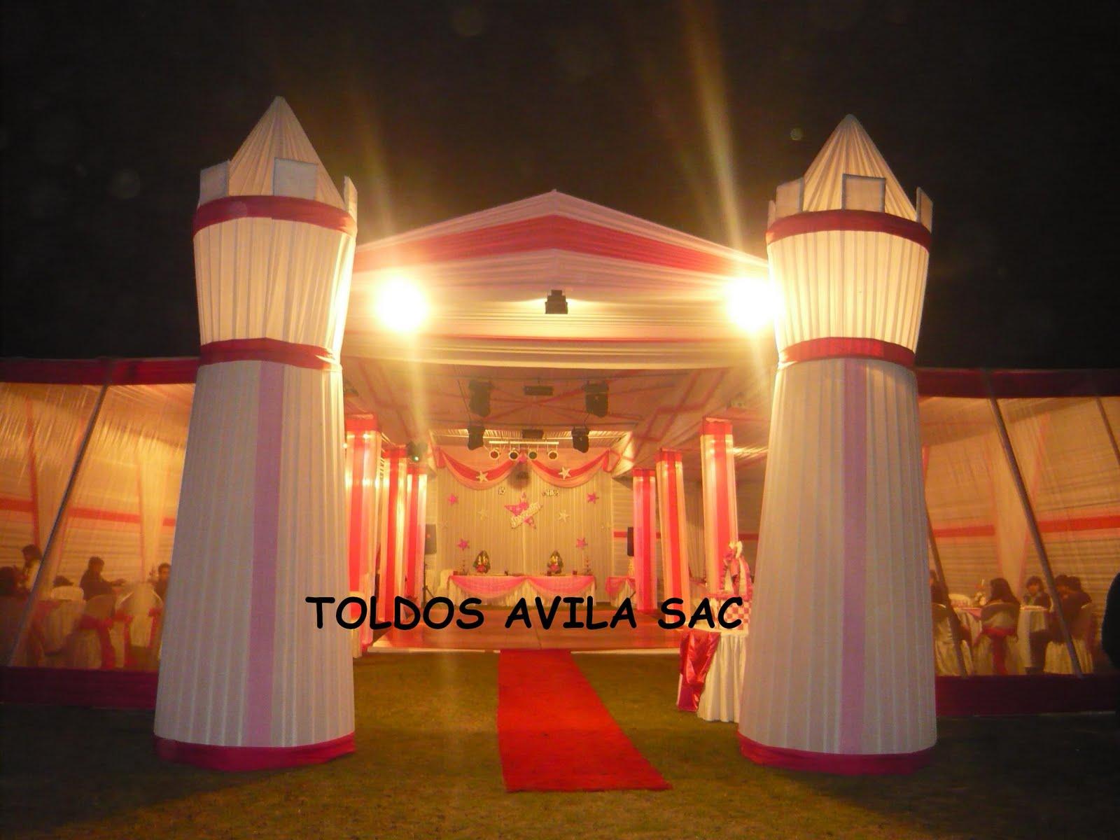 Fotos Toldos Mesas Sillas Plateadas Decoracin Para Eventos Pictures