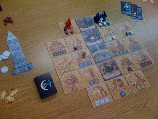 Blue Moon City game in play