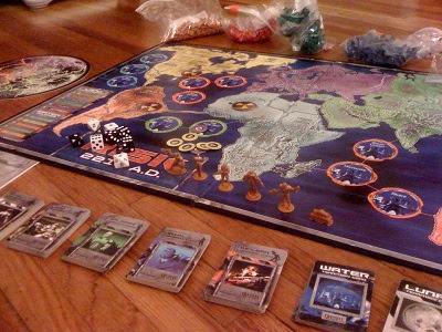 Risk 2210 game