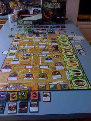 Arkham Horror Game by Fantasy Flight Games