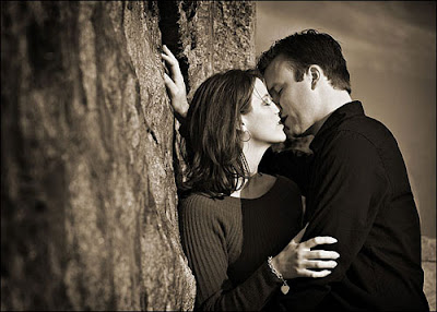 عکس های عاشقانه لب دادن دختر و پسر