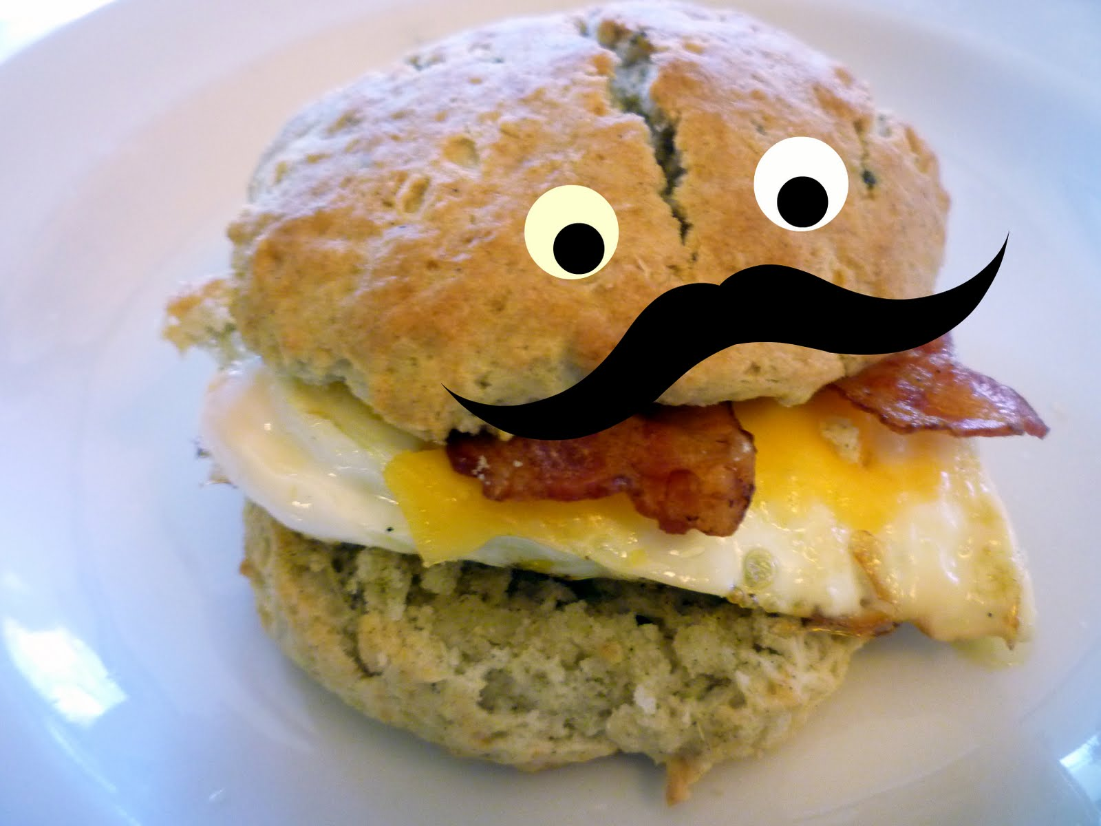 ... breakfast sandwich is for. Me give up the last breakfast sandwich for