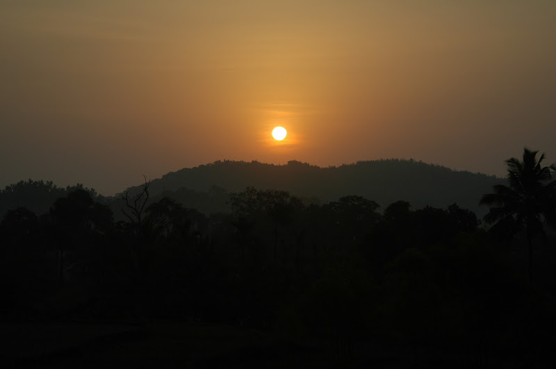 Sunrise at Sharavathi valley