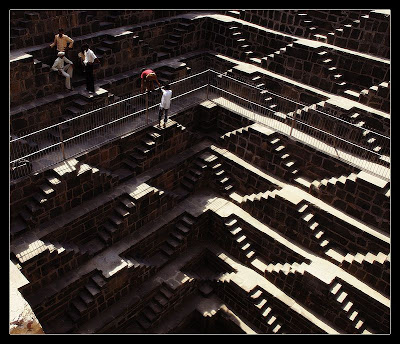 Chand Baori View Top Image