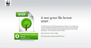 WTF WWF World Wildlife Fund