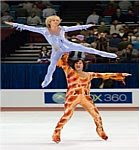 Ferrel and Heder in Blades of Glory