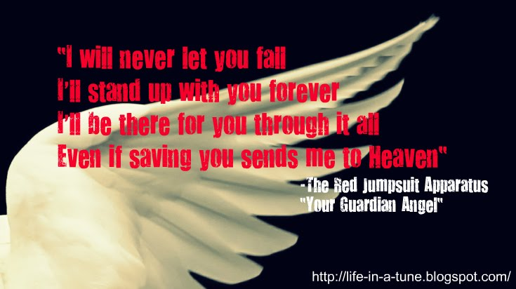 Similiar Guardian Angel Red Jumpsuit Apparatus Chords Keywords