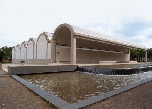 Kahn:  Kimbell Art Museum, Fort Worth, Texas