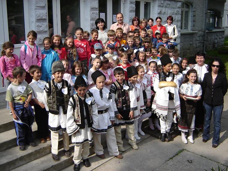 Parteneriat şcolar: Subcetate şi Capu-Corbului
