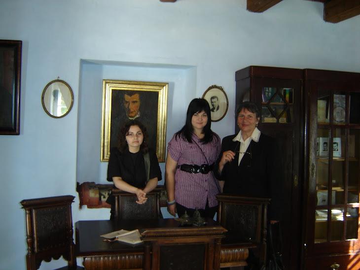 În vizită la Casa memorială Lucian Blaga dinLANCRĂM