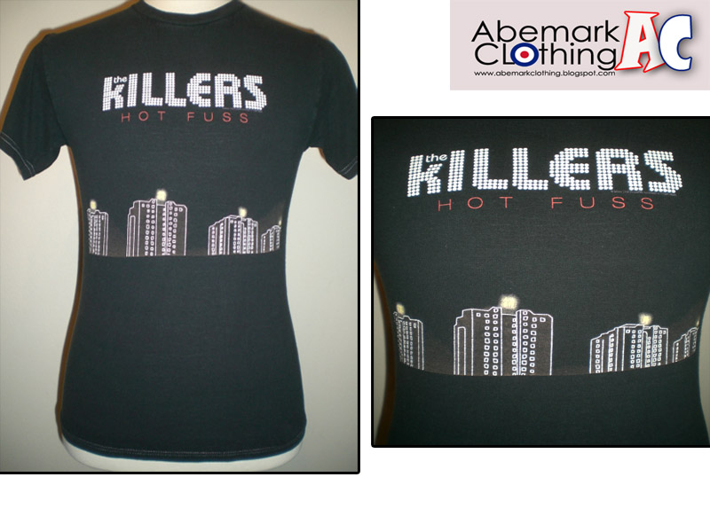 the killers album cover hot fuss. The Killers Hot Fuss Album Cover T Shirt