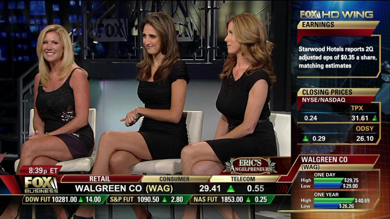 Legs rock on Fox Business!