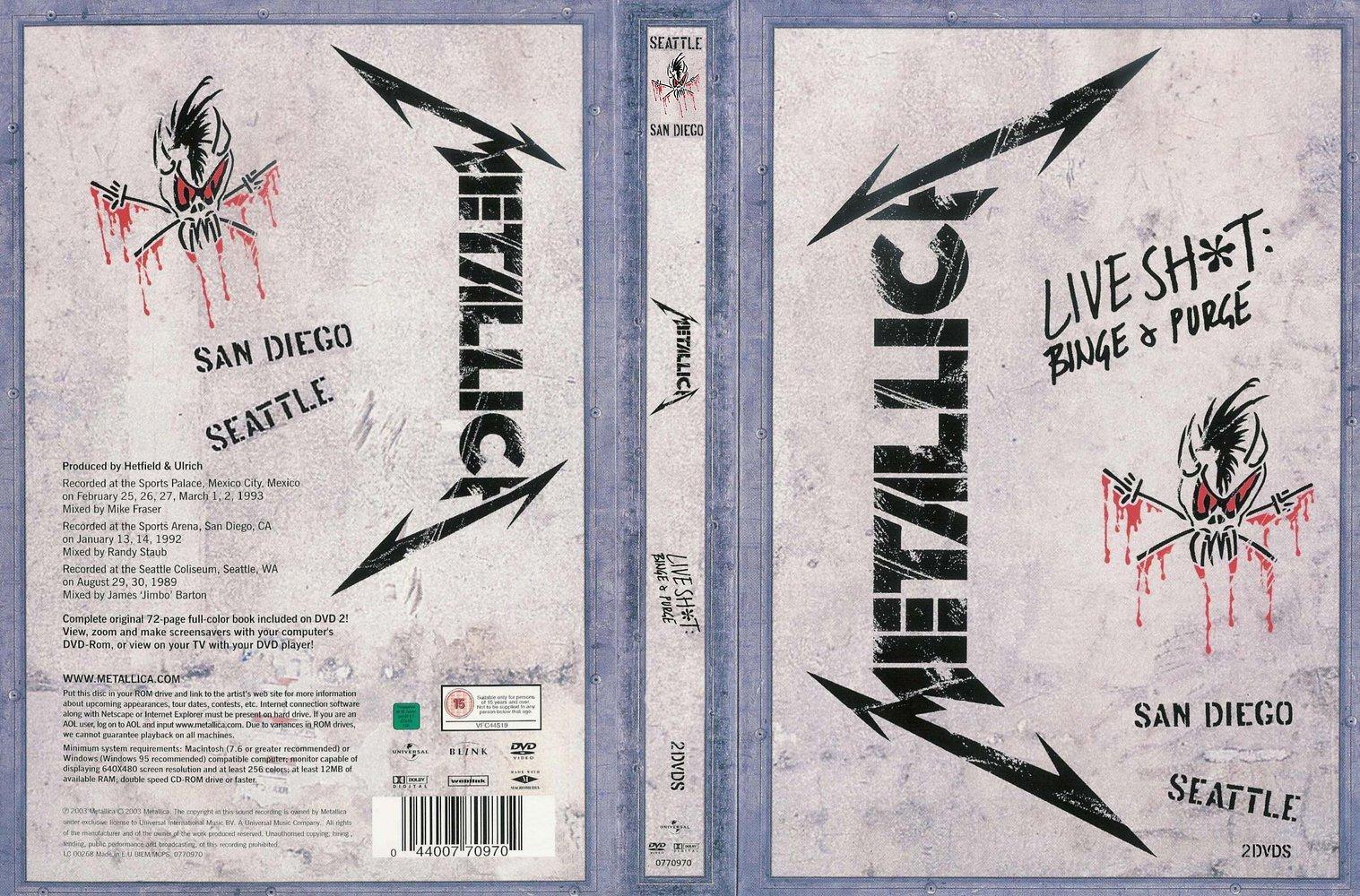 Metallica Live Shit: Binge & Purge