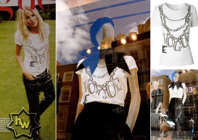 London Fashion's Night Out t-shirt