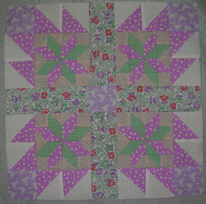 Folded Star Quilt Block http://tiffaneyissewbusy.blogspot.com/2010/09/fresh-squeezed-folded-star-quilt.html