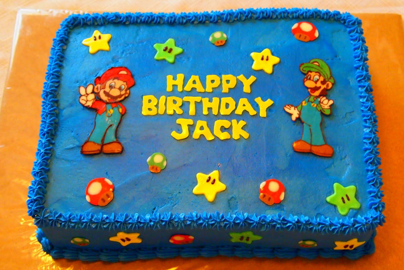 Becky Kelly Cakes Super Mario Bros