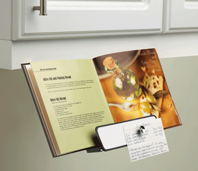 under-cabinet cookbook holder