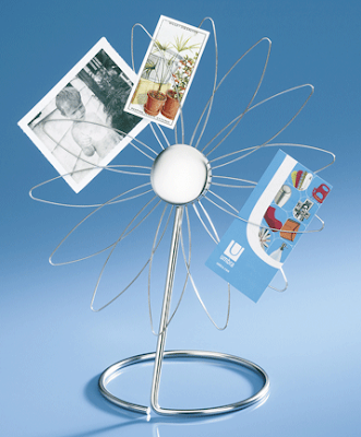 flower-shaped desktop memo holder
