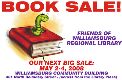 ad for a friends of the library book sale