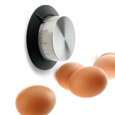timer and eggs