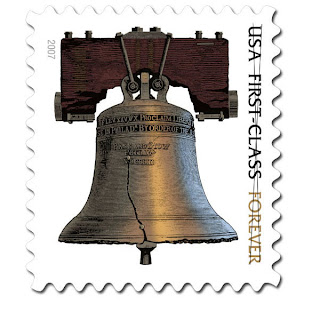 forever liberty bell stamp