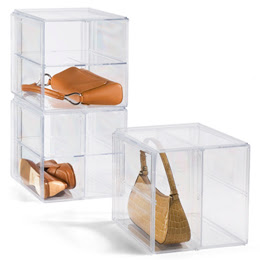 handbag storage cube