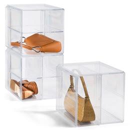 handbag storage cube
