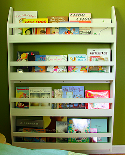 child's book display