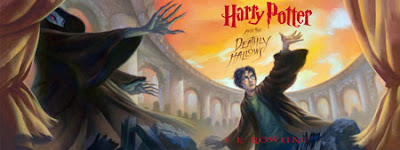 Harry Potter and the Deathly Hallows poster from Borders