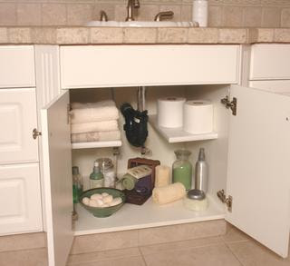 Jeri s organizing decluttering news reader question for Bathroom under sink organizer