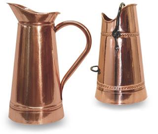 French copper umbrella stands