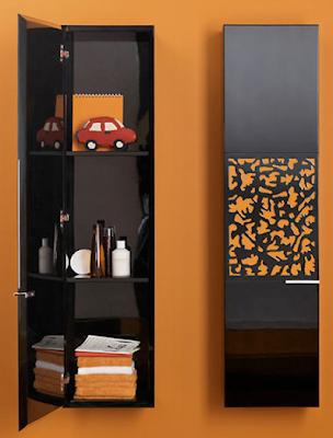 bathroom wall-mounted cabinet