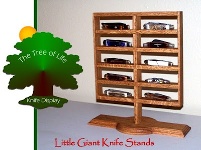 pocket knife display stand