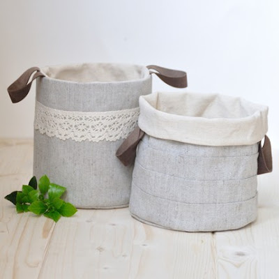 fabric buckets